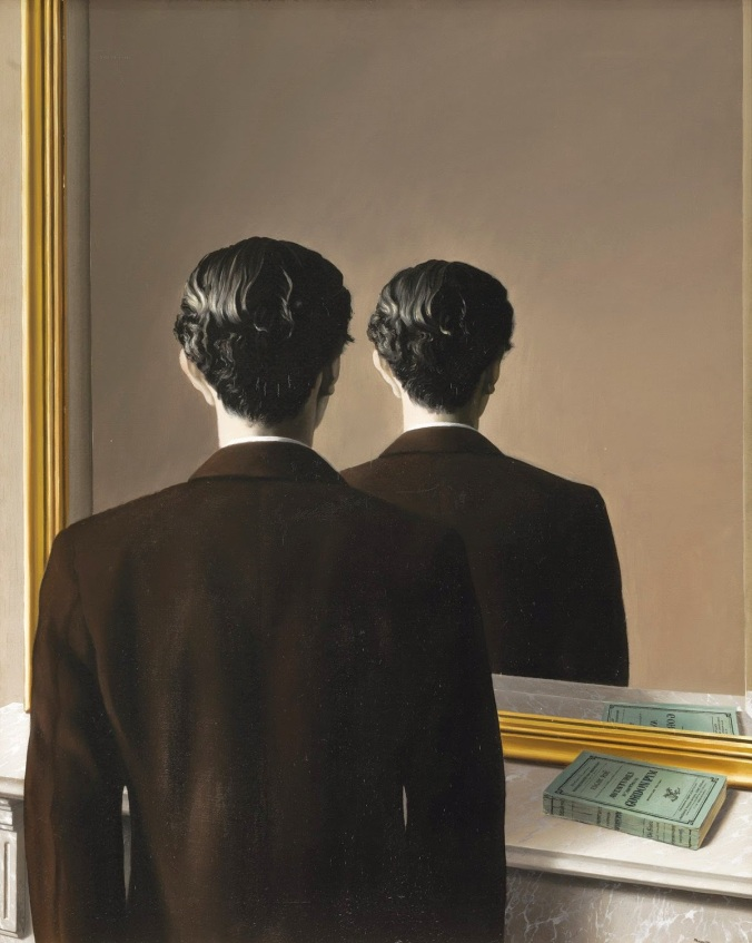 magritte, rene, not to be reproduced 1937
